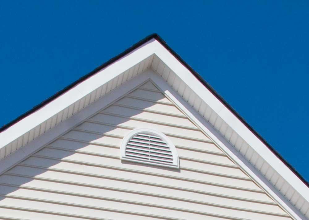 Half-round gable vent, Mid-America